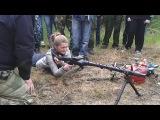 Саша Ивашина за Немецкий пулемёт MG 34